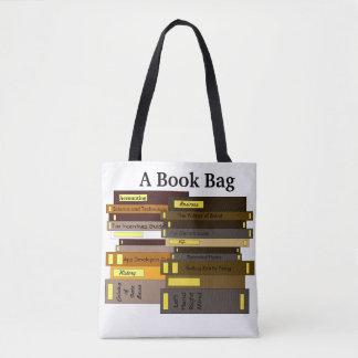 Saco de livro engraçado do bolsa dos livros