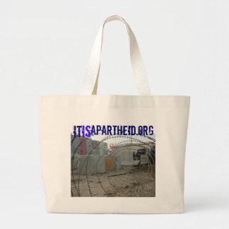 saco de mão de itisApartheid.org Sacola Tote Jumbo