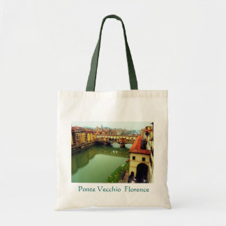 Saco de Ponte Vecchio Florença Bolsa De Lona