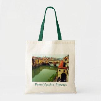 Saco de Ponte Vecchio Florença Sacola Tote Budget