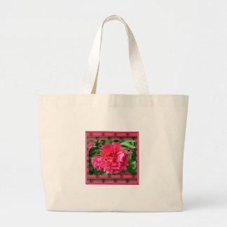 Saco de substância flor Vermelha antes de tijolos Bolsas Para Compras