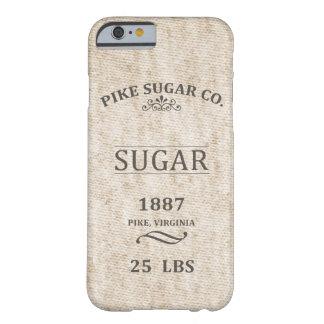 Saco do açúcar do vintage capa barely there para iPhone 6