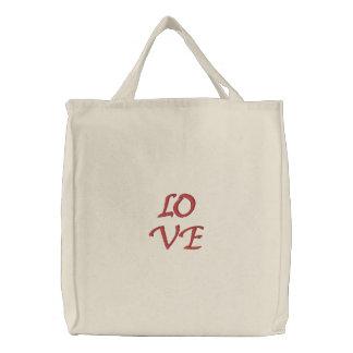 Saco do amor bolsas para compras