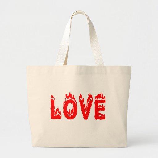 saco do fogo vermelho do amor bolsa para compra
