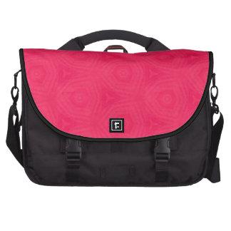 Saco do laptop da viagem ao trabalho do rosa quent maletas para laptop