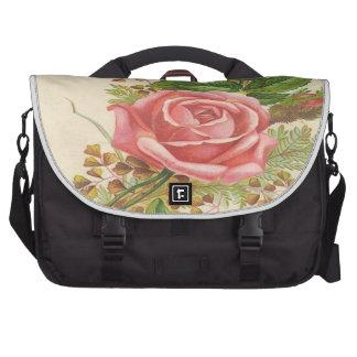 Saco do laptop do rosa do rosa pastas para laptops