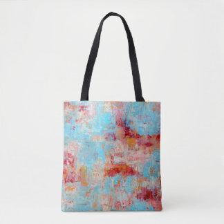Saco do mercado da flor de cerejeira bolsas tote