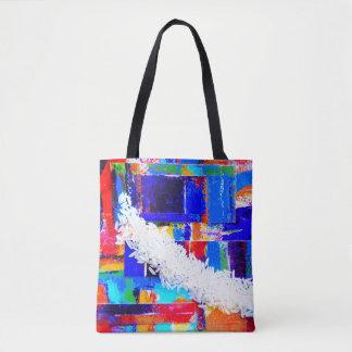 Saco do mercado do arroz do pop art bolsas tote