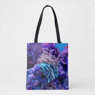 saco do recife de corais bolsas tote