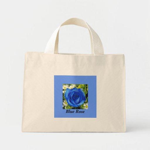 Saco do rosa do azul bolsas