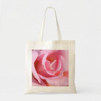 Saco do rosa do rosa sacola tote budget
