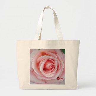 Saco do rosa do rosa sacola tote jumbo