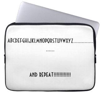 Saco dos eletrônicos capa de notebook
