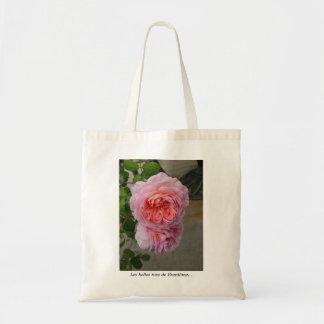 Saco dos rosas dos Belles Sacola Tote Budget
