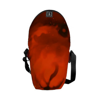 Saco gigante vermelho bolsas mensageiro