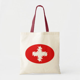 Saco Gnarly da bandeira da suiça Bolsa De Lona