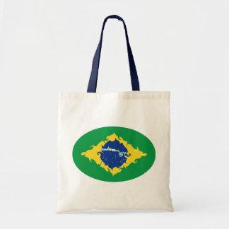 Saco Gnarly da bandeira de Brasil Bolsa