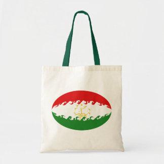 Saco Gnarly da bandeira de Tajikistan Bolsa Para Compras