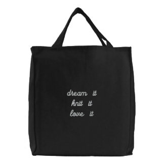 Saco ideal do projecto informático bolsas bordadas