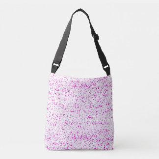 Saco manchado rosa bolsas carteiro