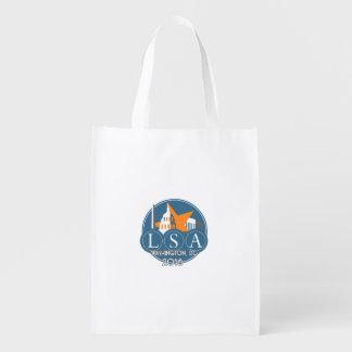 Saco reusável da reunião 2016 anual sacola ecológica para supermercado