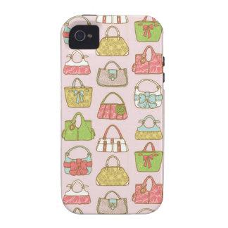 Saco-um-Holic (rosa) Capinhas Para iPhone 4/4S