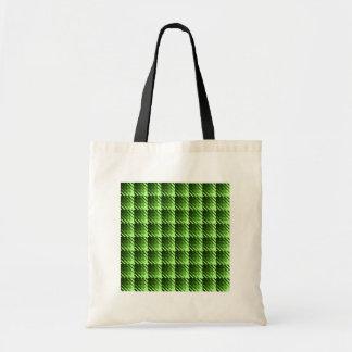 Saco verde da verificação da sombra bolsa para compra