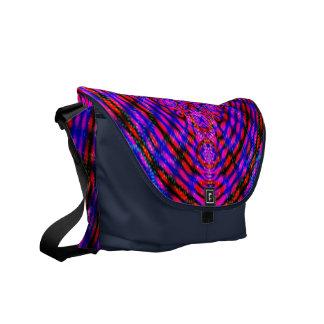 Saco vermelho & azul à moda bolsas mensageiro