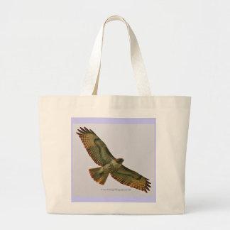 Saco vermelho do carregar do falcão da cauda bolsas de lona