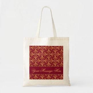 Saco vermelho do conjunto da baga bolsa para compra