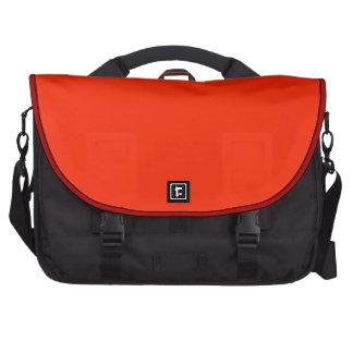 Saco vermelho do laptop da cor sólida bolsa para computador portátil