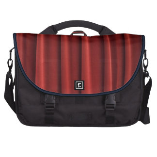 Saco vermelho do laptop do computador da cortina mochila para notebook