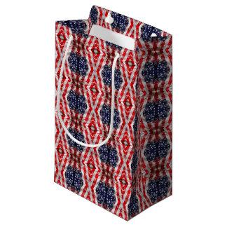 saco vermelho sacola para presentes pequena
