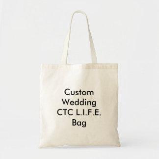 Saco Wedding feito sob encomenda do CTC L.I.F.E. Bolsa Para Compras