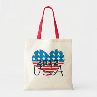 Sacola 2012 patriótica da eleição presidencial dos bolsa