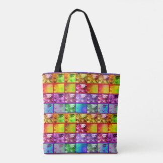 Sacola artística da série da foto da samambaia bolsas tote