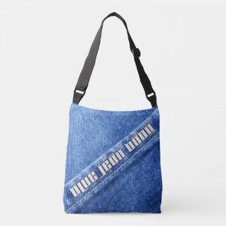 Sacola azul do bebê de Jean Bolsas Carteiro
