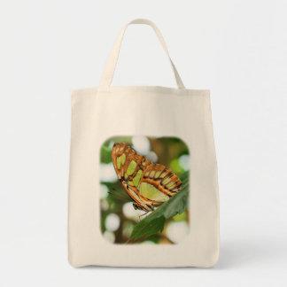 Sacola de observação da natureza da borboleta bolsa tote