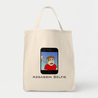 Sacola de Selfie do assassino Sacola Tote De Mercado