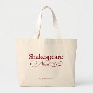 Sacola do nerd de Shakespeare Sacola Tote Jumbo