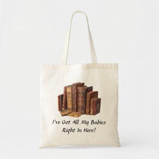 Sacola Eco-Amigável dos amantes de livro Sacola Tote Budget