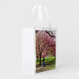 Sacola Ecológica Apreciando as árvores de cereja