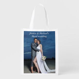Sacola Ecológica As bolsas do presente da festa de casamento