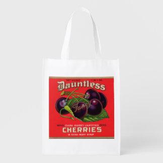 Sacola Ecológica as cerejas Dauntless dos anos 30 no xarope pesado