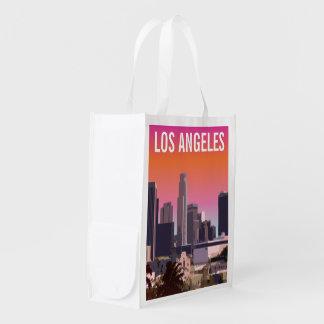 Sacola Ecológica Centro L.A. - Ilustração customizável