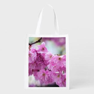 Sacola Ecológica Cereja cor-de-rosa de Sakura