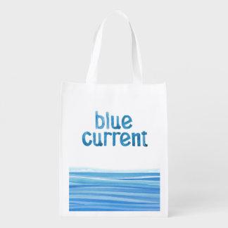 Sacola Ecológica Cervejaria atual azul - o bolsa da etiqueta da