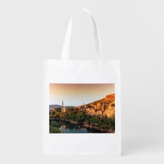 Sacola Ecológica Cidade, Bósnia e Herzegovina velhas de Mostar
