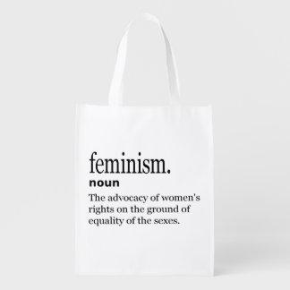 Sacola Ecológica Definição do feminismo
