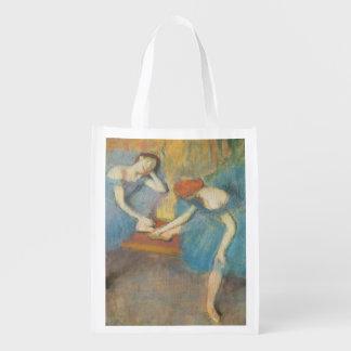 Sacola Ecológica Edgar Degas | dois dançarinos em repouso,